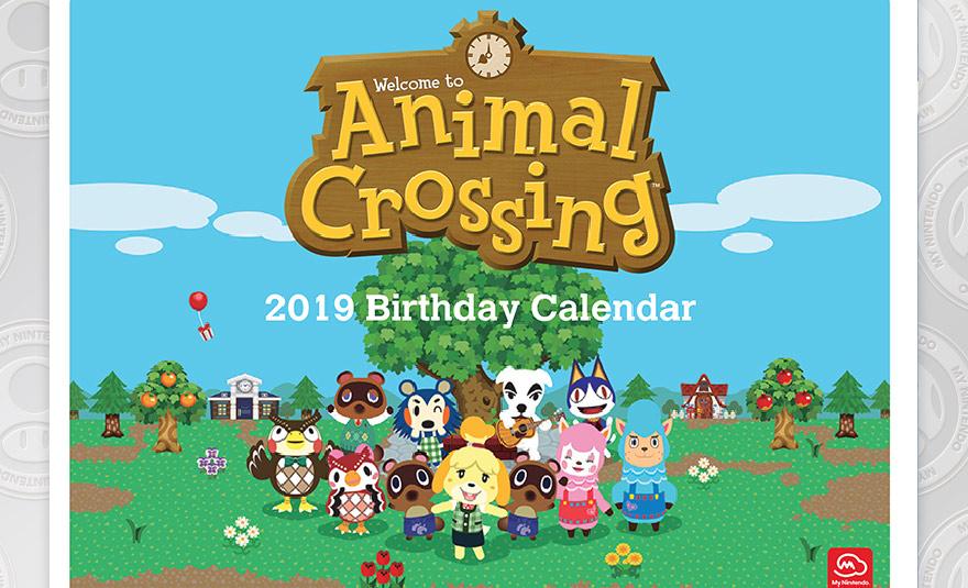 grab a printable animal crossing villager birthday