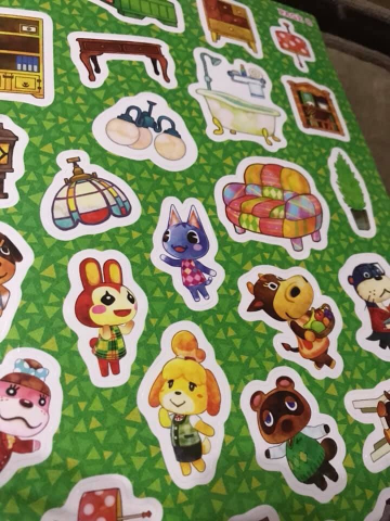 Animal crossing official sticker book