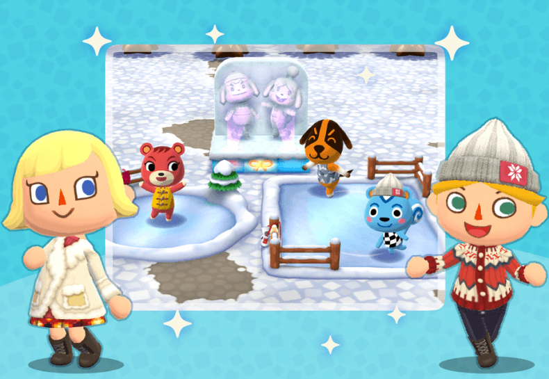 Pocket Camp: New Year Gyroid Scavenger Event!