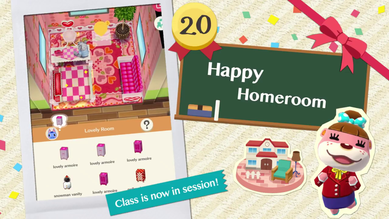 Happy Homeroom: Recommended Flawless Items COURSE 12, Tips