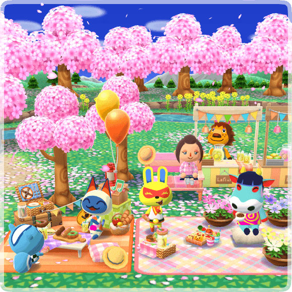 Katie S Time Out Cherry Blossom Gardening Event Pocket Camp Guide