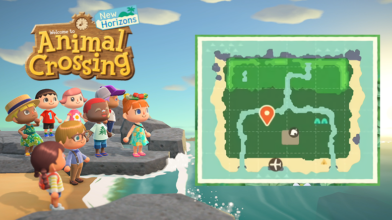 7 New Discoveries In Animal Crossing New Horizons Island Map
