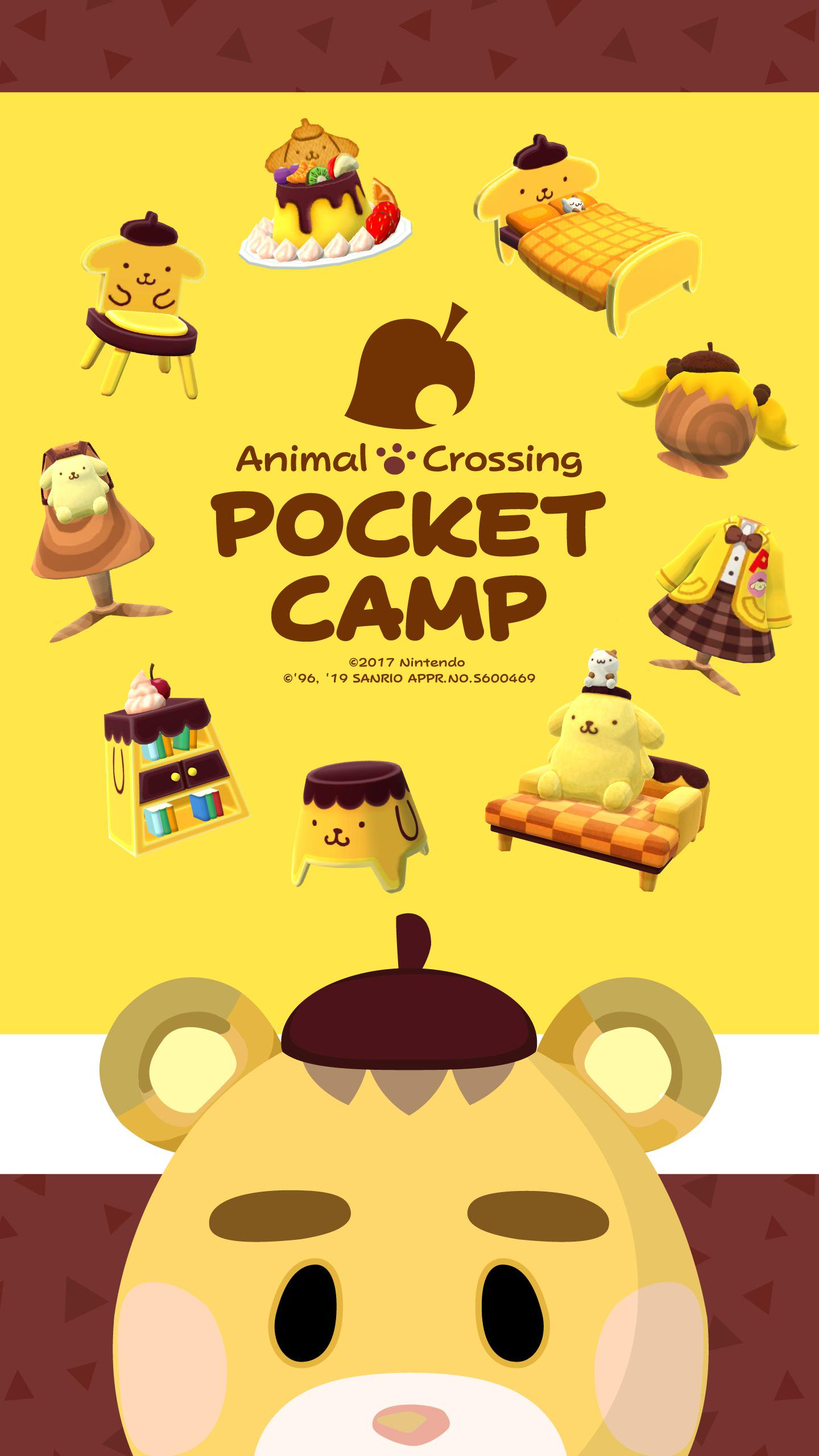 New Wallpapers Official Set Of Animal Crossing Sanrio Phone