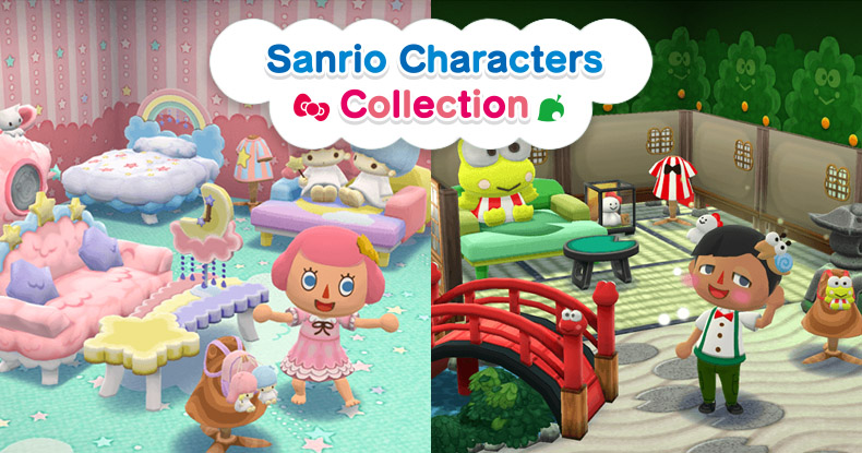 Sanrio Character Collection 3 With Little Twin Stars And Kerokerokeroppi Begins In Pocket Camp