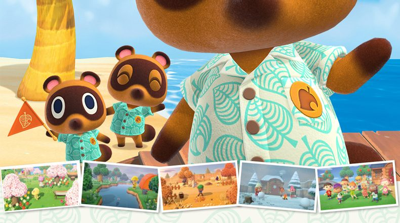 New Animal Crossing New Horizons Screenshots Enhanced