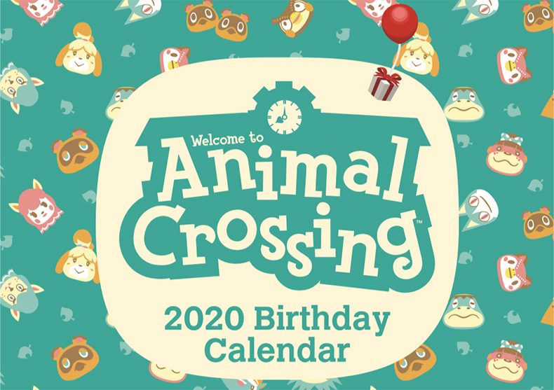 My Nintendo Releases Adorable Animal Crossing 2020 Calendar With