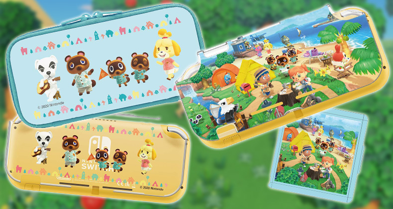 Official Animal Crossing New Horizons Switch Pouch And Case