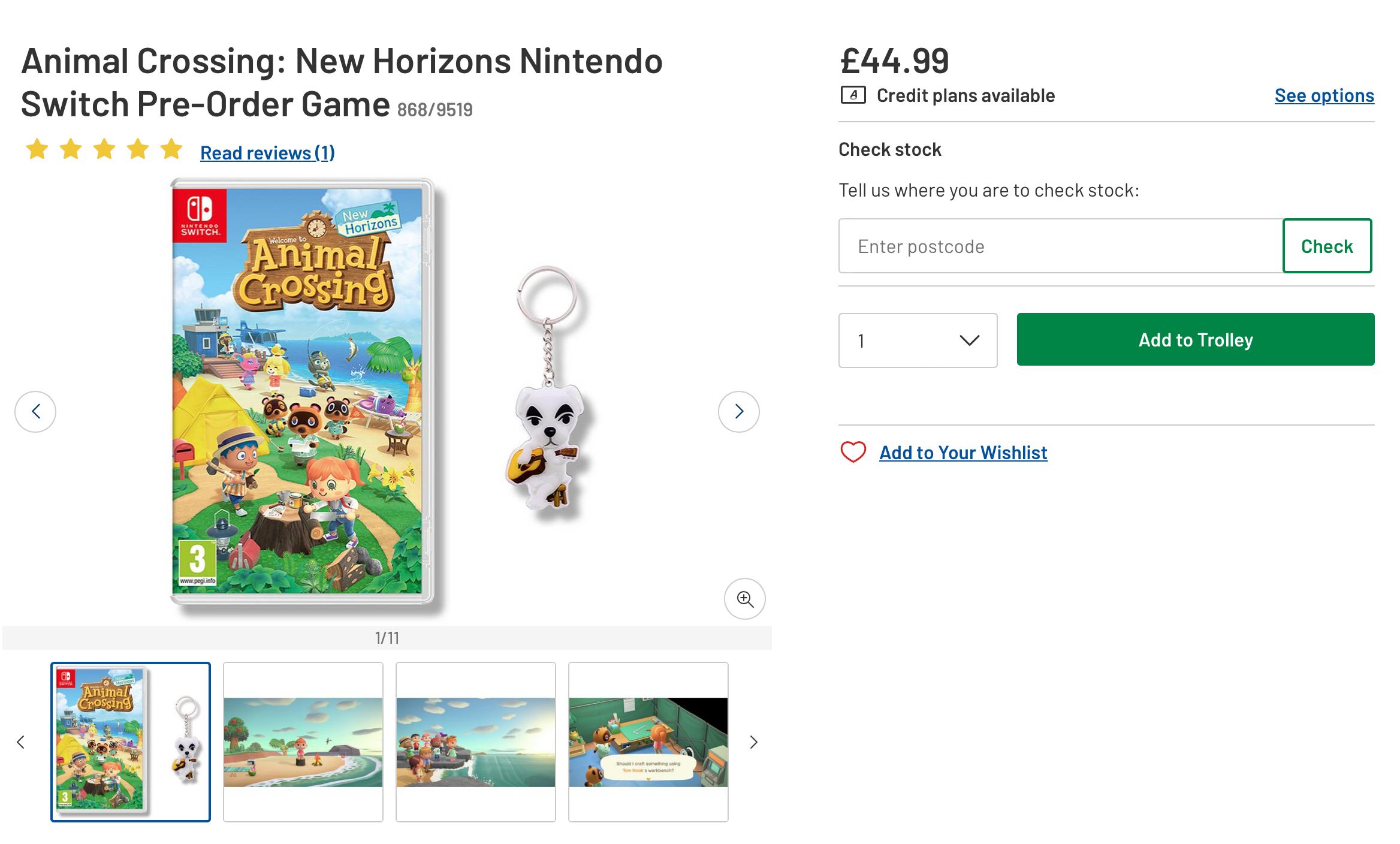 Animal Crossing Nintendo Switch Argos Redaksi7