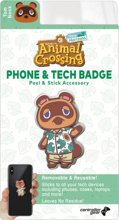 Tom Nook Phone Badge pre-order bonus for Animal Crossing ...