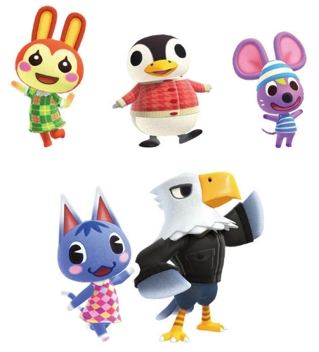 New Animal Crossing New Horizons Scans From Famitsu Show Off 5 New Villager Renders Animal Crossing World