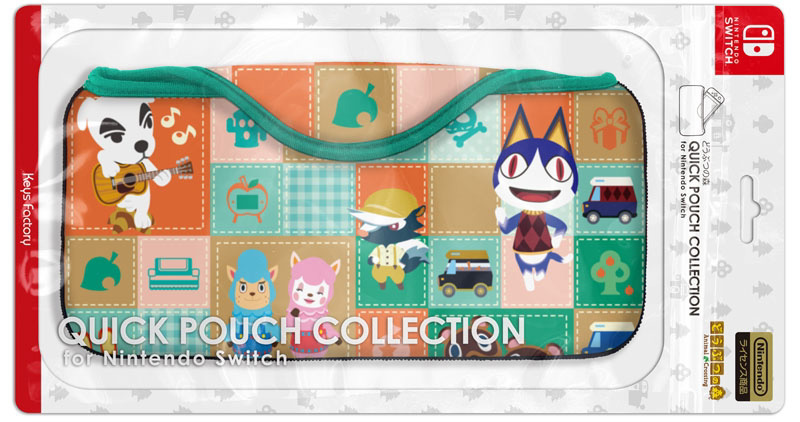 Official Animal Crossing Switch Accessories From Keys Factory