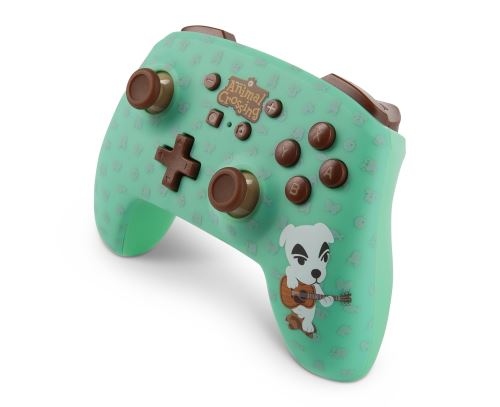 nintendo switch pro controller animal crossing edition