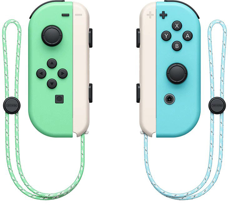 Standalone Animal Crossing New Horizons Switch Joy Cons And Dock