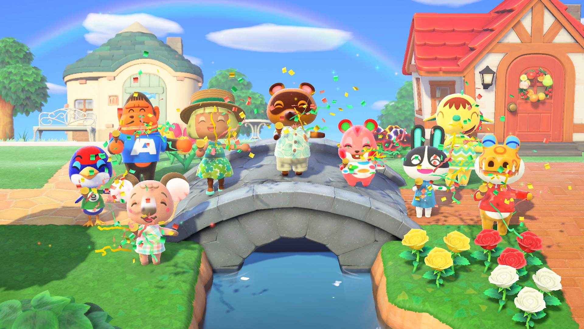 You Always Start With Uchi And Jock Villagers In Animal Crossing