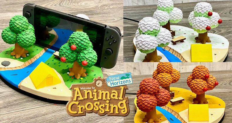 These Fan Made Custom Animal Crossing Docks Are The Perfect Place