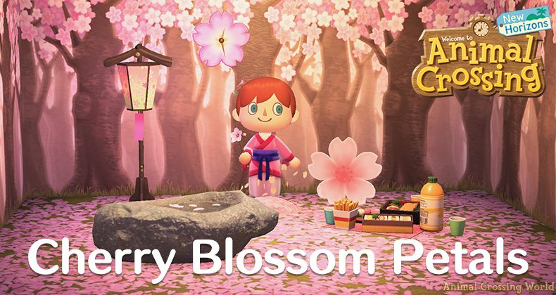 What S New In April For Animal Crossing New Horizons Cherry Blossoms Prom Night Forsythia Bunny Day Animal Crossing World