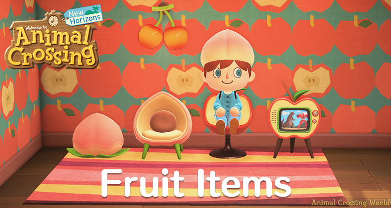 Fruit Furniture Clothes How To Craft Complete List Of Items In Animal Crossing New Horizons