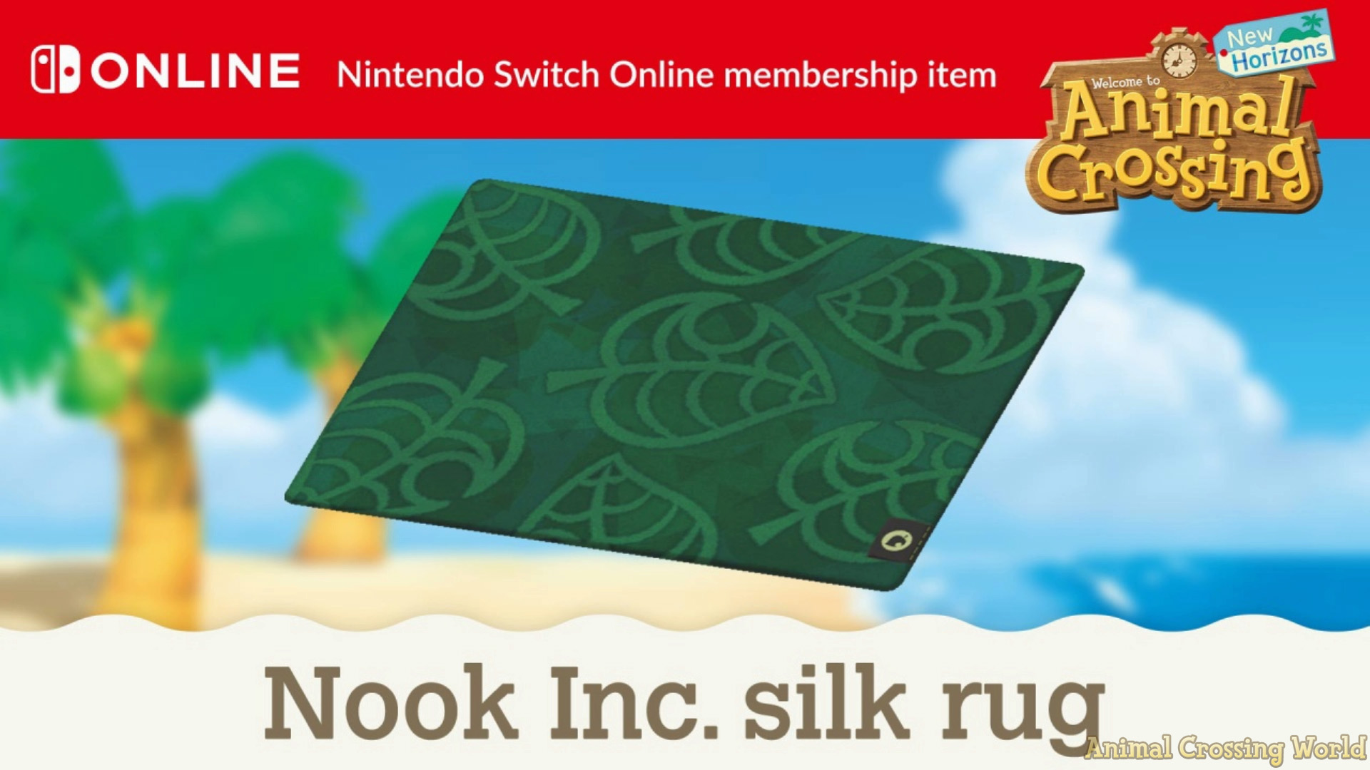 How To Get Exclusive Nook Inc Silk Rug In Animal Crossing New