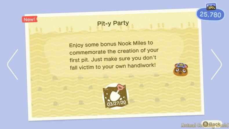 Como desbloquear e criar 'Pitfall Seeds' em Animal Crossing: New Horizons