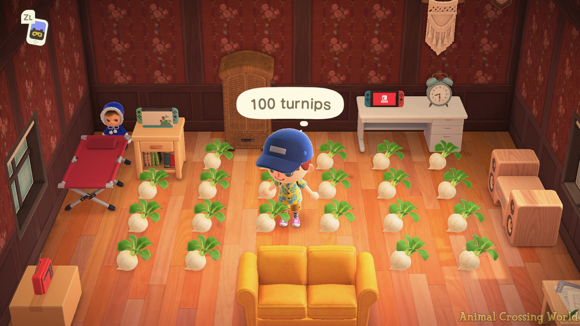 Turnip Stalk Market How To Buy Best Time To Sell In Animal Crossing New Horizons