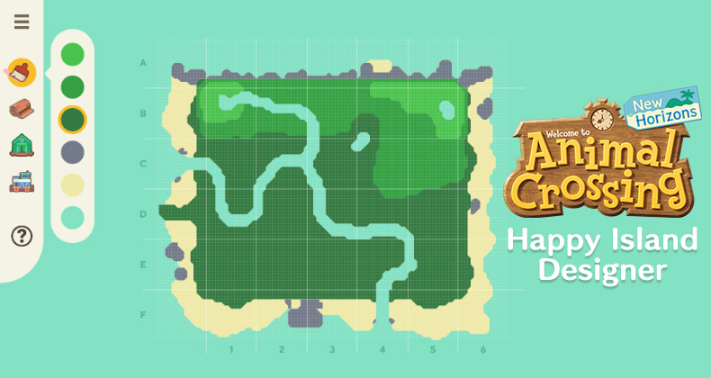 This Happy Island Designer Web App Can Help You Plan Out Every Detail Of Your Upcoming Deserted Island Animal Crossing World