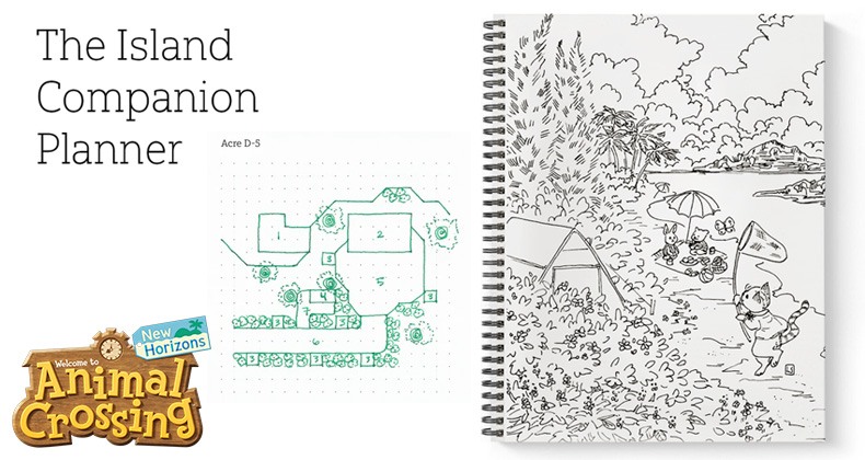 check out this island companion planner designed for