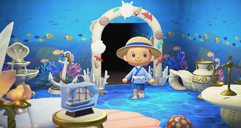 Three New Animal Crossing: New Horizons Japanese ... on Animal Crossing Room Ideas New Horizons  id=59814