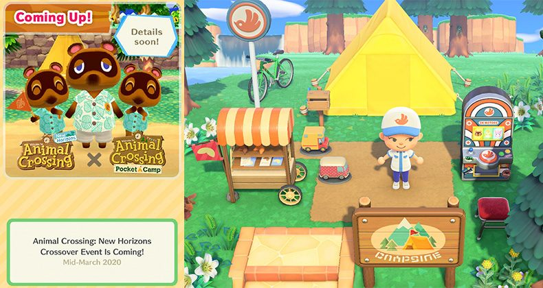 Animal Crossing New Horizons X Pocket Camp Event Coming In Mid