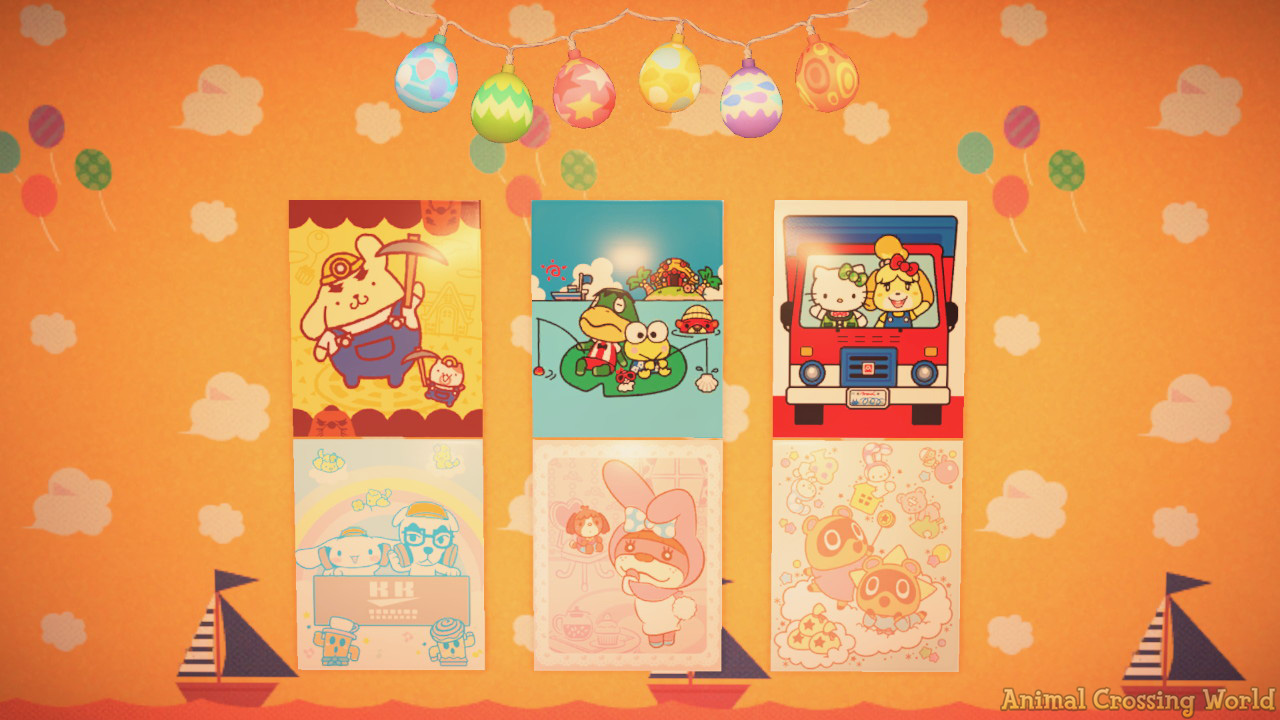 Sanrio Amiibo Cards What You Can Use Them For In Animal Crossing