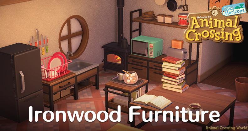 Ironwood Furniture Set How To Craft