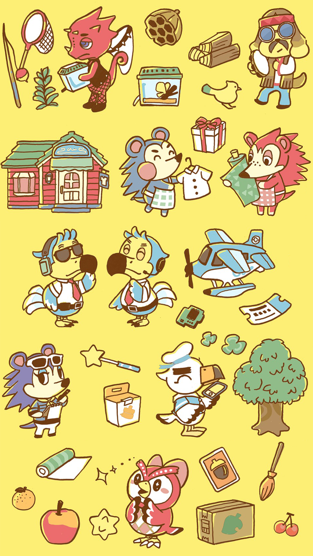 Get Animal Crossing New Horizons Phone Desktop Wallpapers Created From New Official Artwork Animal Crossing World