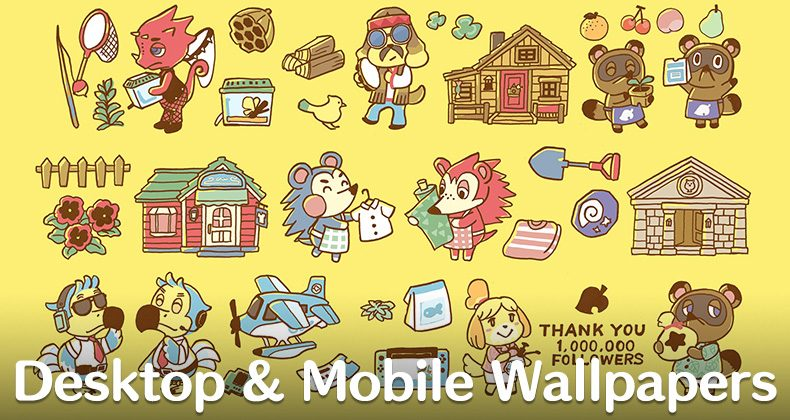Get Animal Crossing New Horizons Phone Desktop Wallpapers