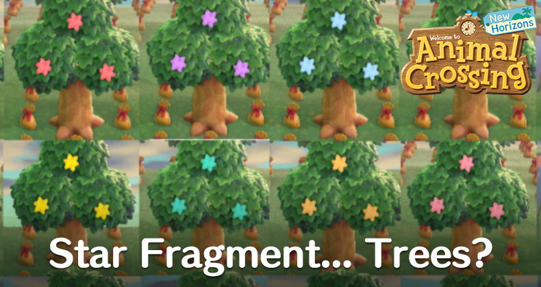 We Wish These Hacked Star Fragment Trees In Animal Crossing New Horizons Were Real Animal Crossing World