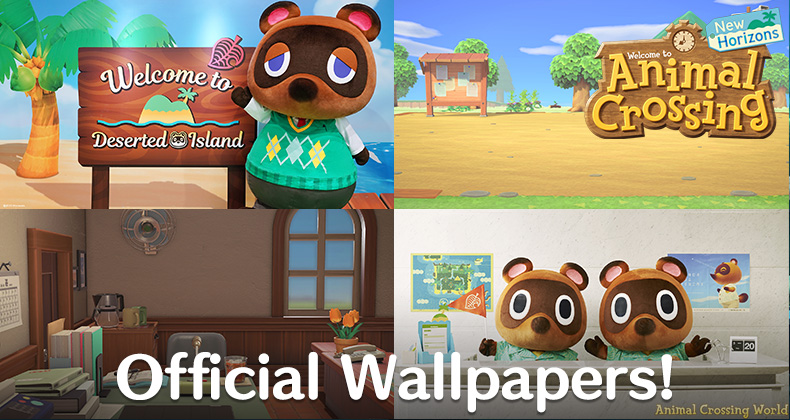 Don T Miss These New Official Animal Crossing New Horizons Wallpapers From Nintendo Mobile Edits Animal Crossing World