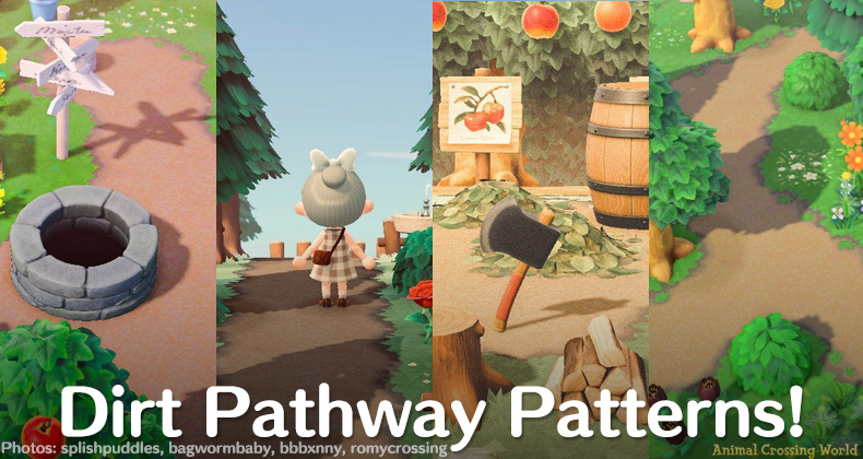 16 Great Variations Of The Path Pattern For Animal Crossing New