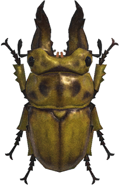 Animal Crossing: New Horizons Golden Stag Bug