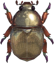 Animal Crossing: New Horizons Scarab Beetle Bug
