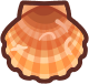 Animal Crossing: New Horizons Scallop Sea Creature