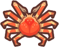 Animal Crossing: New Horizons Spider Crab Sea Creature