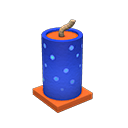 Fountain Firework Item from Redd's Raffle in Animal Crossing: New Horizons