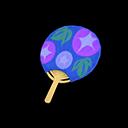 Uchiwa Fan Item from Redd's Raffle in Animal Crossing: New Horizons