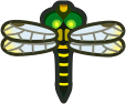 Animal Crossing: New Horizons Banded Dragonfly Bug