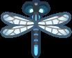 Animal Crossing: New Horizons Damselfly Bug