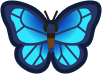 Animal Crossing: New Horizons Emperor Butterfly Bug