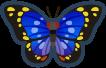 Animal Crossing: New Horizons Great Purple Emperor Bug