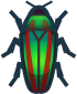 Animal Crossing: New Horizons Jewel Beetle Bug