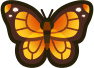 Animal Crossing: New Horizons Monarch Butterfly Bug