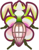 Animal Crossing: New Horizons Orchid Mantis Bug
