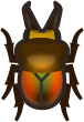 Animal Crossing: New Horizons Rainbow Stag Bug