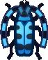 Animal Crossing: New Horizons Rosalia Batesi Beetle Bug